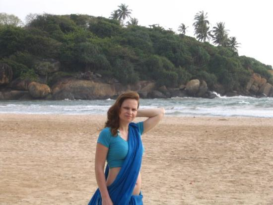 Eden Resort & Spa: typical Indian dress