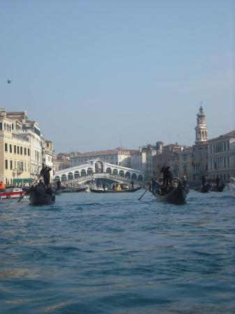 Canal Grande: Rialto bridge