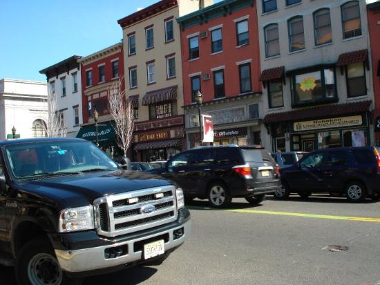 Hoboken, NJ: First view of the bakery