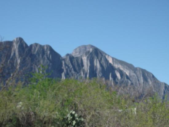 Monterrey, Mexico: mountains...
