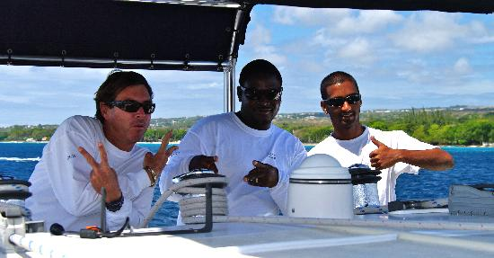 Cool Runnings Catamaran Cruises: The crew