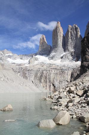 Ecocamp Patagonia: An ardous trek rewarded with this sight...