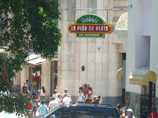 La Habana, Cuba: street sign