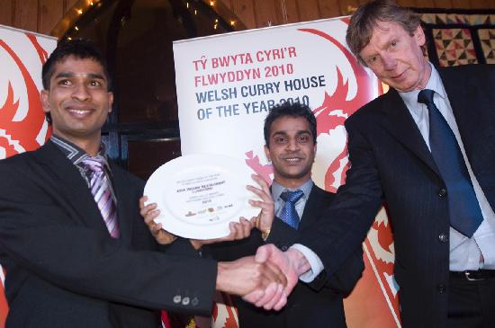 Blue Elephant: winner for the north wales 'welsh curry house of the year 2010