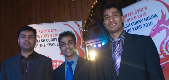 Blue Elephant: north wales winner 'welsh curry house of the year 2010