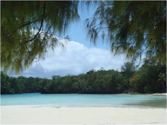 Airai Water Paradise Hotel & Spa: Ngemelis Island