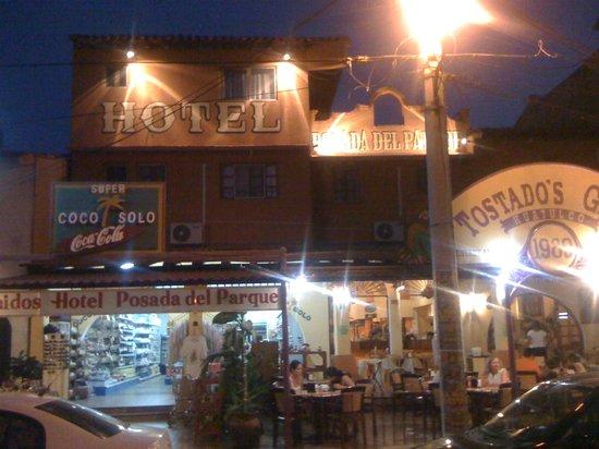 Posada Del Parque : restaurant