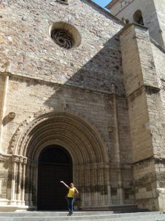 Ciudad Real, España: En la puerta de la Iglesia