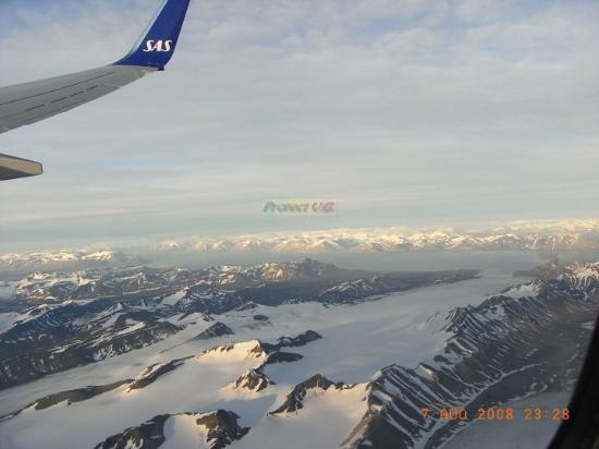 Longyearbyen, Noorwegen: Vol vers le Spitzberg