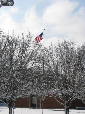 Flag at Red Springs High