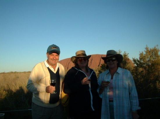 Yulara, Australia: Ayres Rock at sun set