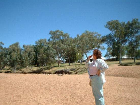 Yulara, Australia: The River