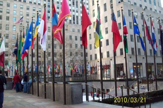Metropolisk kunstmuseum: Rockefeller Center