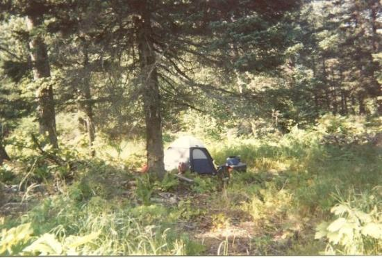 "This is where I lived for a few weeks in Seward before i moved into ""Tent City"". This was cozier"