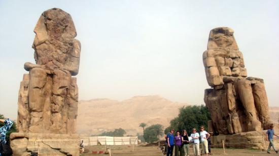 Colossi of Memnon @ Thebes, Amenhotep III