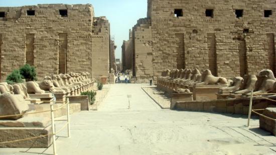 Luxor Tempel: Avenue of the Sphinx's@ Luxor