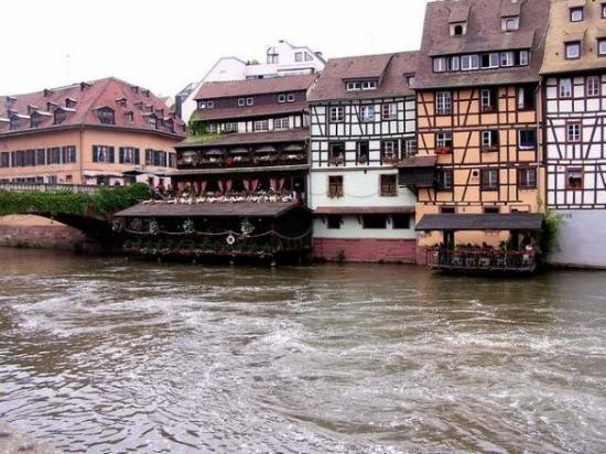 Strasbourg, France: You can take a boat ride on the river and the Rhine and see the beautiful architecture and...