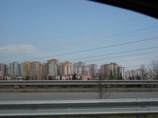 on the road again, Samsun to Trabzon