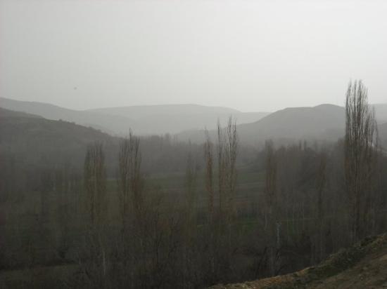 road trip from Ankara to Samsun , Turkey