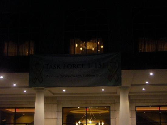 French Lick Springs Hotel: welcome home banner for 1-151