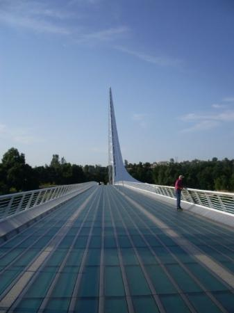 Sundial Bridge: sun dial bridge in redding! coooool!