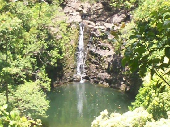 Wailuku, Hawái: water fall