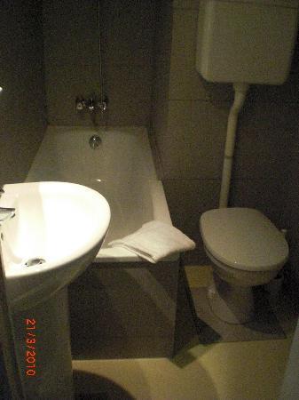 Hotel Lecourbe: Baño