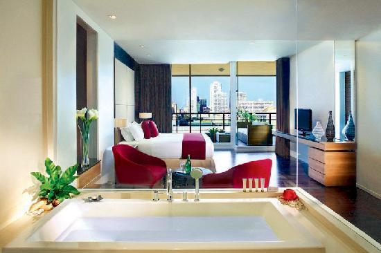 Pan Pacific Serviced Suites Bangkok: Bed Room