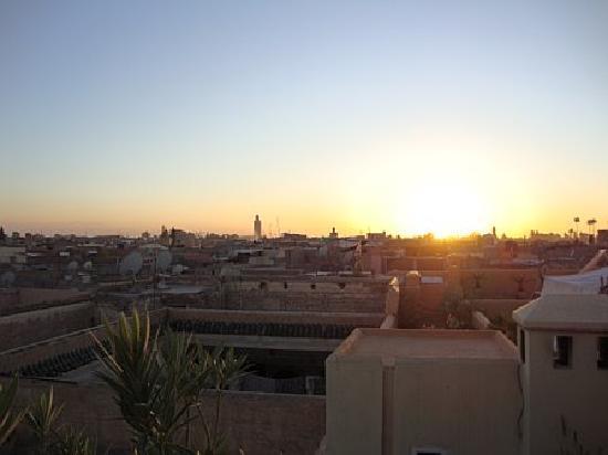 Dar Hanane: View from Roof Terrace