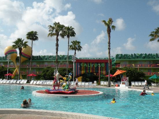 Disney's All-Star Music Resort: One of the pools