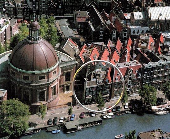 Singel Hotel Amsterdam : Air view Singel Hotel