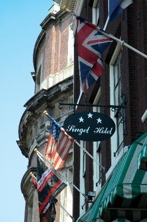 Front view Singel Hotel