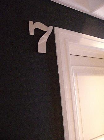 Maison Pic: Chambre n°7 - couloir de l'hôtel