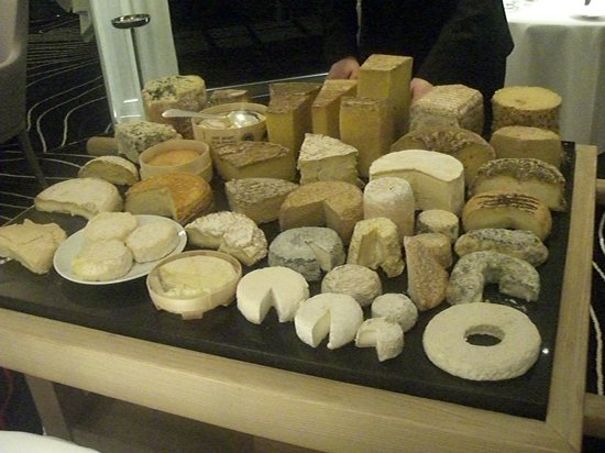 Le plateau de fromages pic picture of pic valence for Restaurant valence france