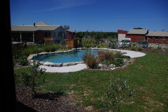 Eden's Edge Lodge: view of pool