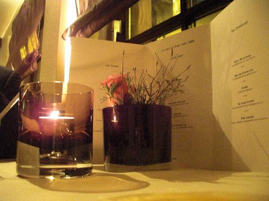 Mosbach's Restaurant: le menu