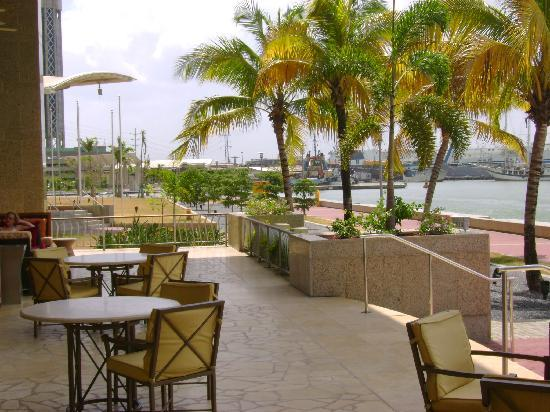 Hyatt Regency Trinidad: Sea Front view