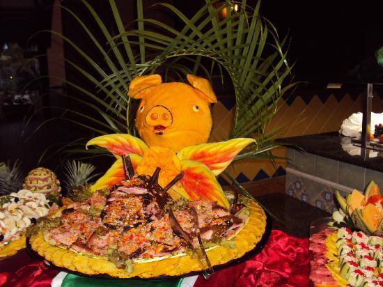Punta Cana Princess All Suites Resort & Spa: Buffet