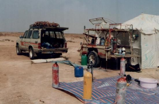 Taif Saudi Arabia Landcruiser trailer and desert tent & Landcruiser trailer and desert tent - Picture of Taif Makkah ...
