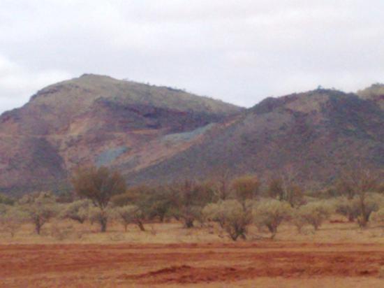 Meekatharra Australia  city pictures gallery : Meekatharra, Australia: Mt Gould, complete with old tin mine scares.