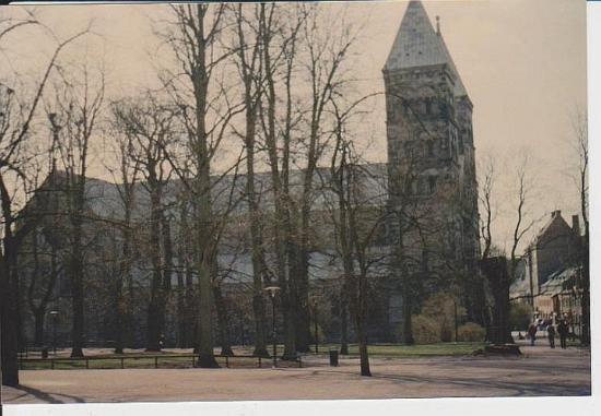 Lund, Sverige: der Domkyrkan