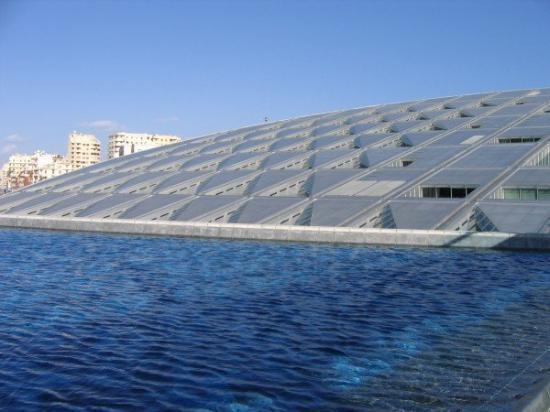 Bilde fra Bibliotheca Alexandrina