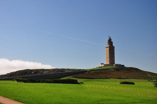 Tower of Hercules (Torre de Hercules) : Faro romano