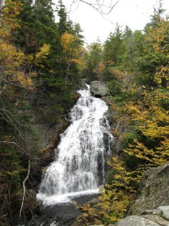 Lebanon, NH: Crystal Cascades, Tuckerman Ravine, White  Mountains  of New Hampshire, October 2009. My first v