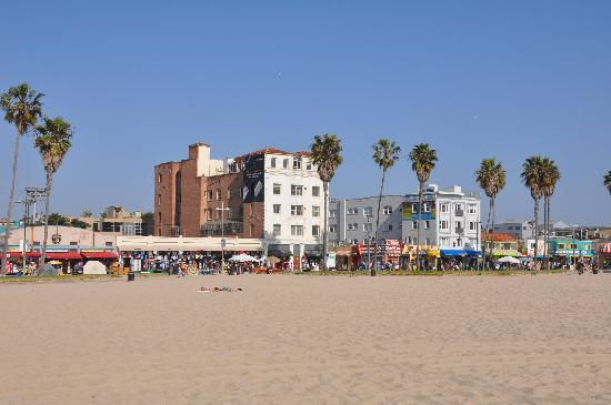 Venice Beach Suites Hotel And From Down The