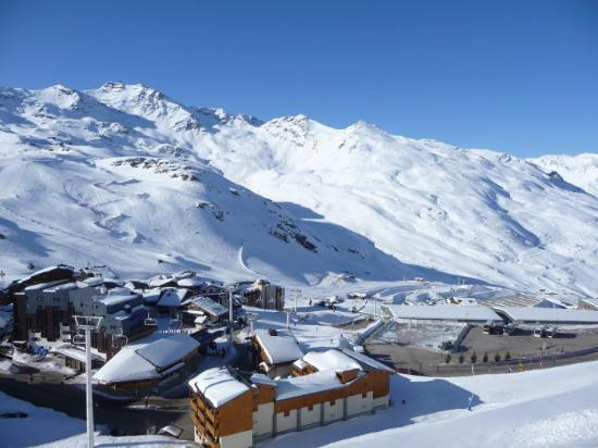 Chambery, Prancis: The beautiful Val Thorens