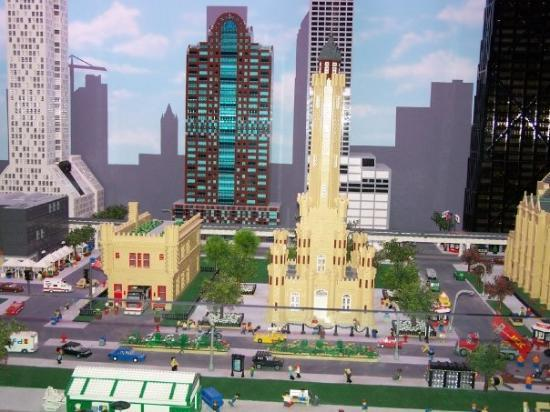 The Chicago Skyline in Legos - Picture of Legoland ...