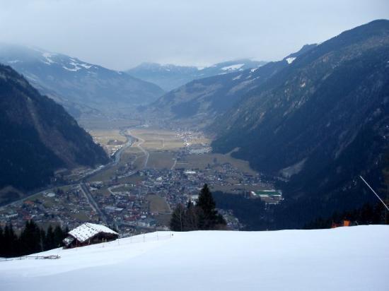 Mayrhofen, Österreich: schöne aussicht von der piste :-)