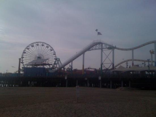 Santa Monica Pier: una feria a la orilla de la playa!!!!