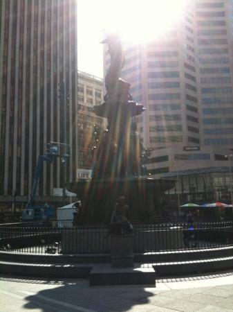 Bilde fra Fountain Square